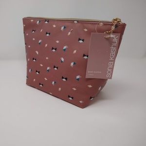 Sonia Kashuk Boat Clutch Travel Bag NEW with Tags
